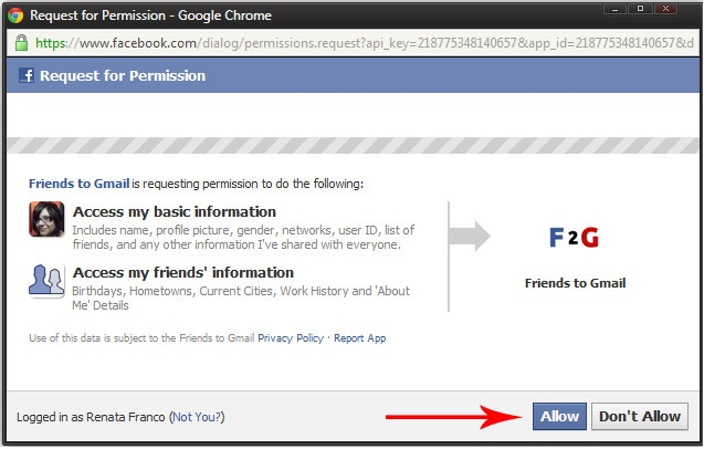 conectar con facebook aumenta lista de suscriptores