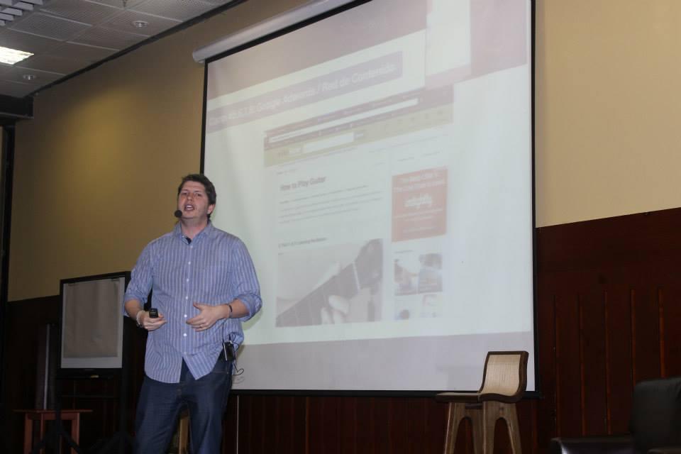 Juan Martitegui en los maestros de internet 2014